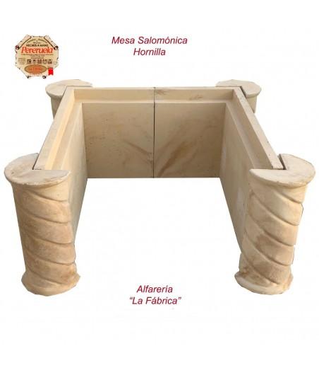 Mesa salomónica para hornilla