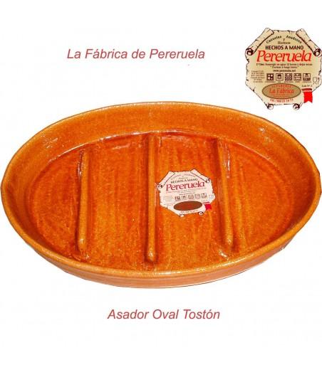 Asador oval tostón