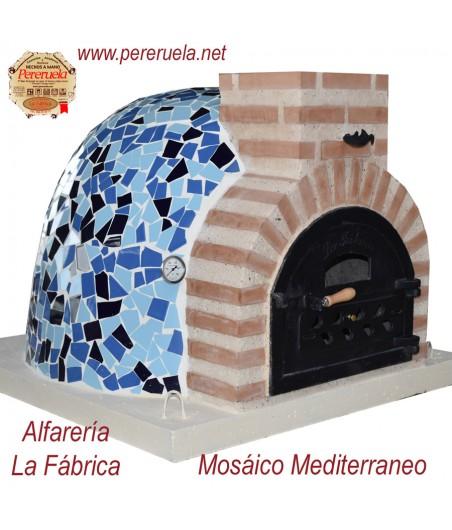 horno de pereruela mosaico azul