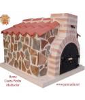 horno de leña caseta piedra