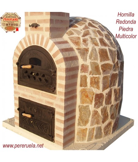 Hornilla Redonda Piedra Natural