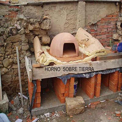 Contrucción del horno paso 12