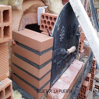 Contrucción del horno paso 22