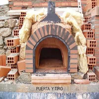 Contrucción del horno paso 23