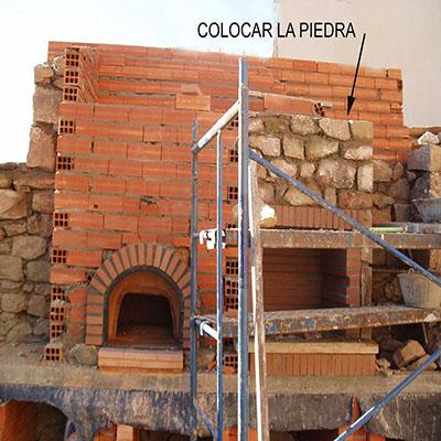 Contrucción del horno paso 28